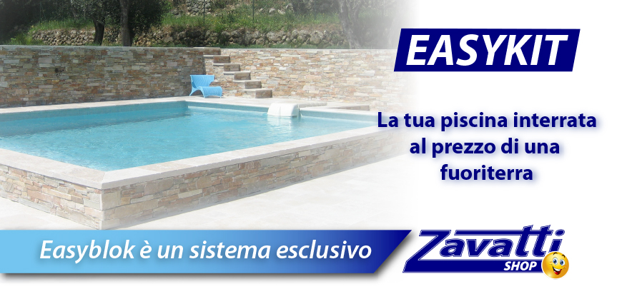 Easykit piscine in kit fai da te