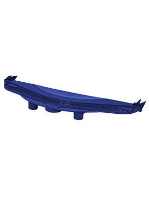 Maytronics 9982323 Carter laterale blu con respingenti per robot Dolphin easykleen e vitrium