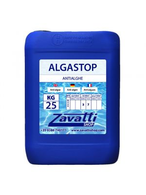 25 Lt Algastop - antialghe liquido per piscine