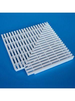 Elemento d'angolo a 90° modello EDP/90 per griglie rettilinee Patentverwag griglia angolare