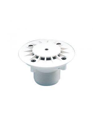 Bocchetta di fondo mandata / aspirazione in ABS per piscina in cemento Astralpool bianco