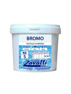 Bromine tabs chemical for pool - 5 Kg