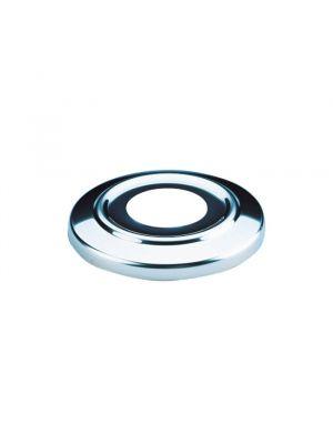 Copriflangia ancoraggio in acciaio inox AISI-304 per scaletta piscina