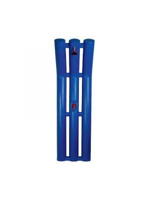 Corpo doccia solare Scultura Pool's senza basamento - Blu
