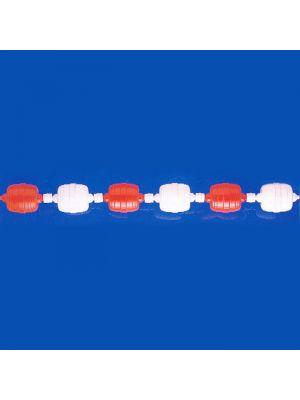 Corsia galleggiante modello NORM/0 50 mt Patentverwag bianco e rosso