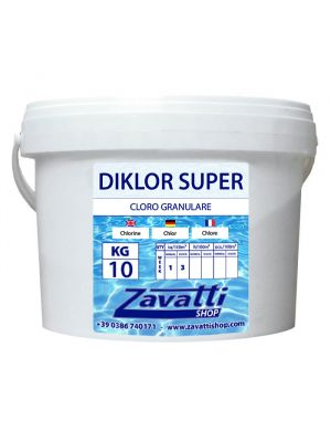 Granular chlorine chemical pool product - 10 kg