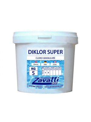 Granular chlorine chemical pool product - 5 kg