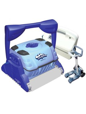 9999014-SPR Dolphin Maytronics Sprite C pool robot with Wonderbrush sponge brushes