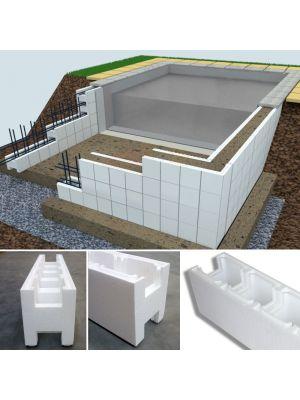 Bancale 40 casseri Easyblok per costruzione piscina skimmer