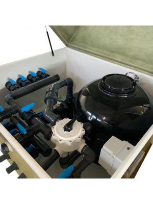 Locale tecnico con impianto completo da 15 mc/h pompa DAB EUROPRO 75 0,75 HP