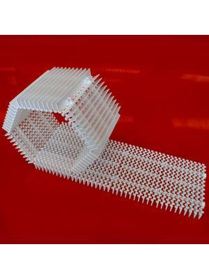 Griglia rettilinea arrotolabile modello ES/25 prezzo al m Patentverwag in polietilene
