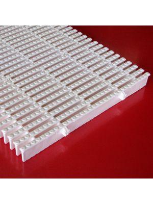 Griglia rettilinea arrotolabile modello PV/33 prezzo al m Patentverwag in polietilene