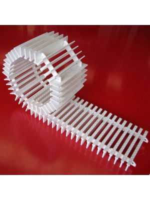 Griglia rettilinea arrotolabile modello SP/14 (prezzo al m) Patentverwag in polietilene