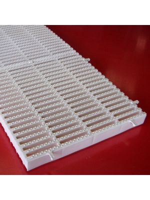 Griglia rettilinea rigida modello AZ (prezzo al m) Patentverwag in polietilene