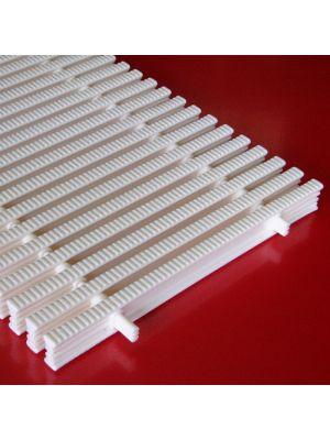 Griglia rettilinea rigida modello EA/30 prezzo al m Patentverwag in polietilene