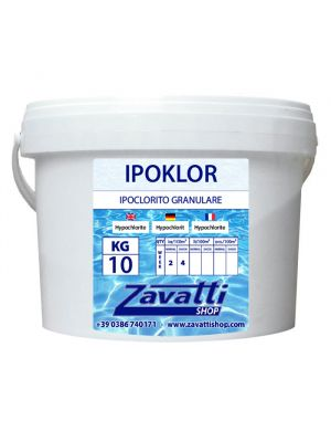 Calcium hypochlorite chemical pool product - 10 Kg
