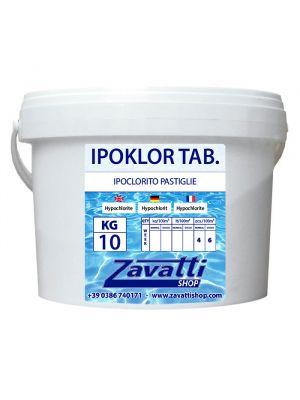 10 Kg Ipoklor Tab - ipoclorito di calcio in pastiglie da 200 gr