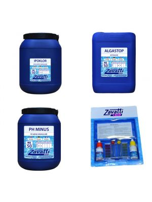 Kit 150 Kg Calcium chemicals for swimming pool no chlorine
