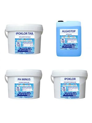 Summer kit Calcium chemicals for pool tank and bucket