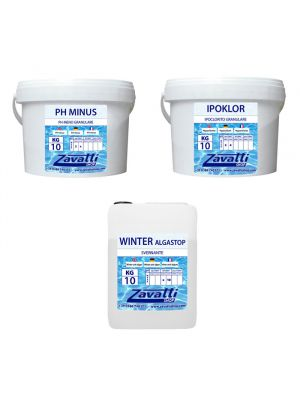 Kit 30 Kg Calcium Closing chemicals for pool