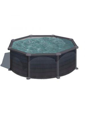 piscina fuori terra gre serie granada liner grigio