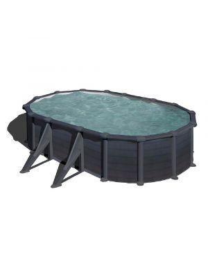 piscina fuori terra granada liner grigio