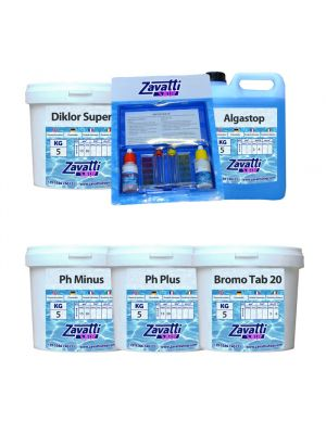 Kit Spa Hidro - chemicals for mini pool