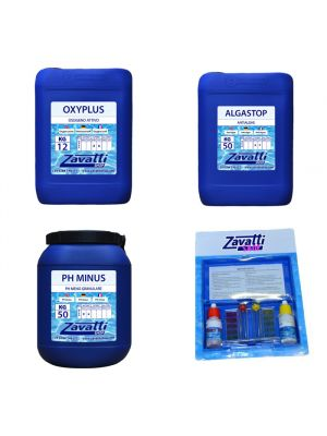 Kit 150 Kg No-Klor chemicals for swimming pool