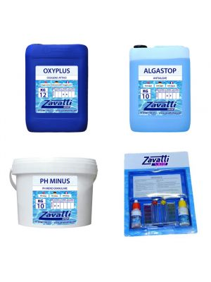 Kit 30 Kg No-Klor chemicals for swimming pool