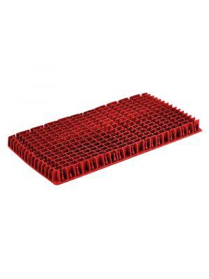 Maytronics 6101303 - Spazzola in pvc lunga rossa / arancio di ricambio per robot Dolphin 3001