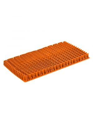 Maytronics 6101599 - Spazzola in pvc lunga arancione di ricambio originale per robot Dolphin