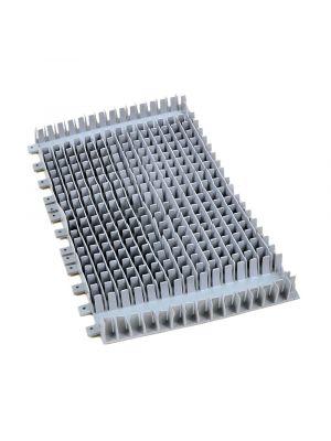 Maytronics 6101641 - Spazzola pvc combinata lunga grigia per robot Dolphin