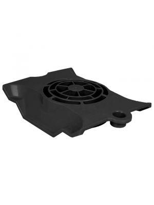 Maytronics 9991062-ASSY - Copriventola motore nero per robot Dolphin