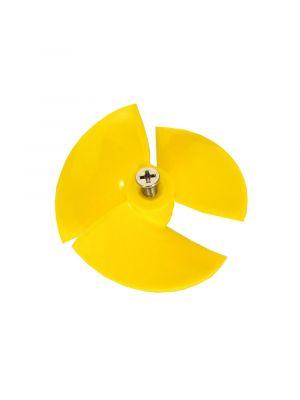 Maytronics 9995269 - Ventola / girante gialla per robot piscina Dolphin
