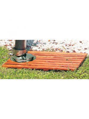 Pedana in legno per docce Solarjet Tecnocontrol Ati