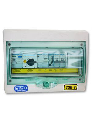 Quadro elettrico per piscina skimmer con 1 pompa monofase fino a 2 CV Tele-Matic