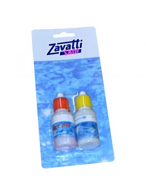 Replacement liquid for pool test kit