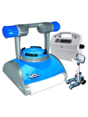 99996644-MAS Dolphin Maytronics Master M4 pool robot with Wonderbrush sponge by Maytronics
