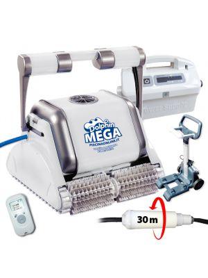 Robot pulitore piscina Dolphin Maytronics Mega Pro X Timer telecomando