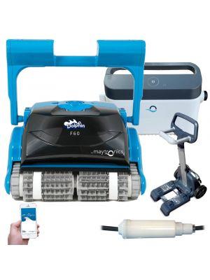 Robot pulitore piscina Dolphin F60 tecnologia IOT pulizia totale