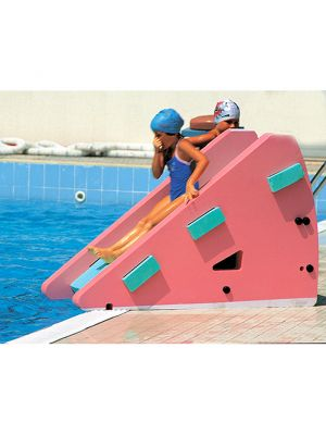 Scivolo espanso per piscina 150 x 67 x h 100 cm - Okeo