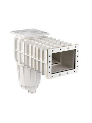 Skimmer bocca stretta con prolunga in ABS per piscina in liner PVC - Pool's