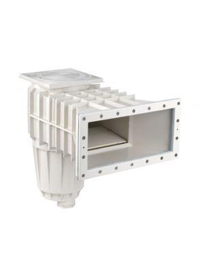 Skimmer bocca svasata con prolunga in ABS per piscina in liner PVC - Pool's