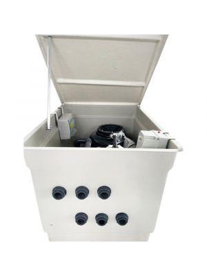 Locale tecnico SMALL MAC con impianto completo da 10 mc/h