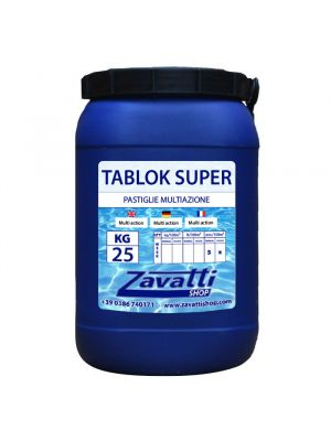 Trichloro Multifunction chemical tabs for pool - 25 Kg