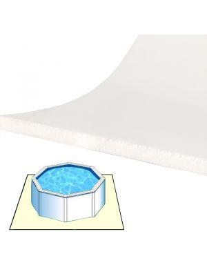 Tappeto materassino morbido da fondo 8 x 4 m per piscina fuoriterra