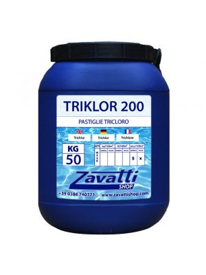 Chlorine Tablets chemical pool product - 50 Kg