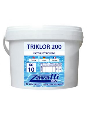 Chlorine Tablets chemical pool product - 10 Kg