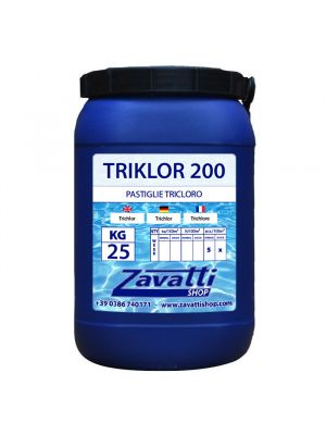 Chlorine Tablets chemical pool product - 25 Kg