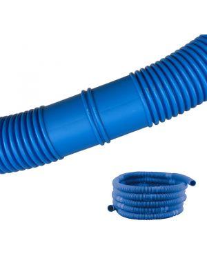 Tubo flessibile corrugato manicottato per piscina fuoriterra - sezioni da 1,5 m - Ø 38